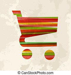 Vintage multicolor ecommerce