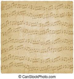 Vintage music background