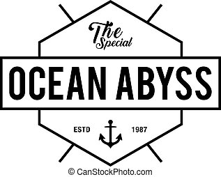 Vintage nautical labels