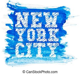 Vintage new york typography t-shirt graphics vector