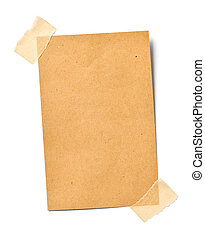 vintage note paper office business