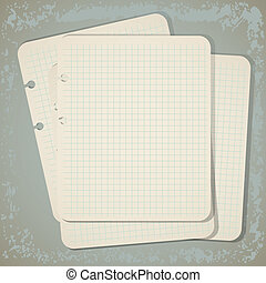 vintage notepad background