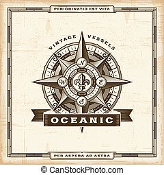 Vintage Oceanic Label