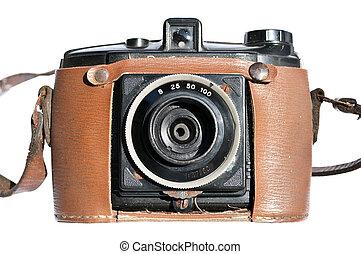Vintage old film photo-camera