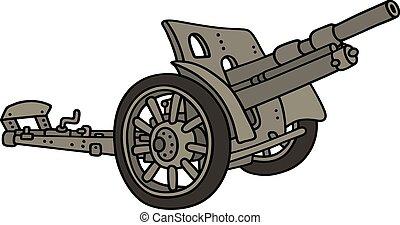 Vintage olive cannon