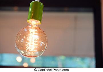 Vintage or retro lamp