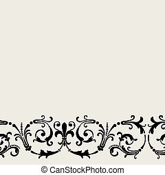 Vintage ornament  seamless pattern