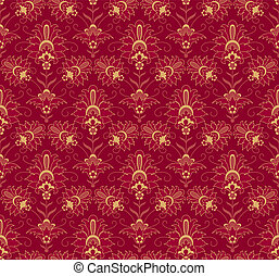 Vintage ornamental background