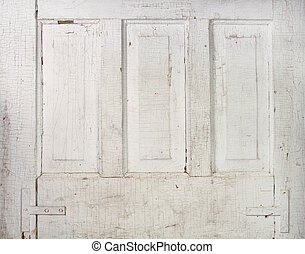 Vintage panel door background