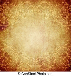 Vintage Paper Background - Vintage paper background with ...