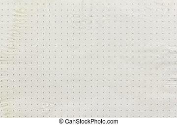 vintage paper dot
