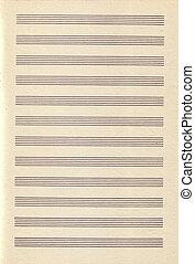 Vintage Paper Music
