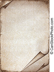 Vintage Paper - Old paper texture with stains patterns and...