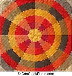 Vintage paper target