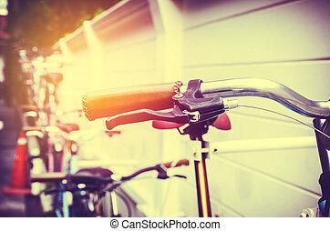 vintage part of bicycle