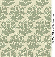 Vintage pattern background seamless