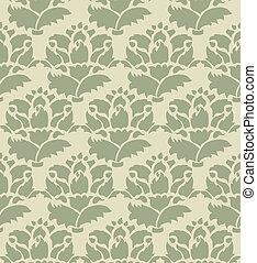 Vintage pattern background seamless