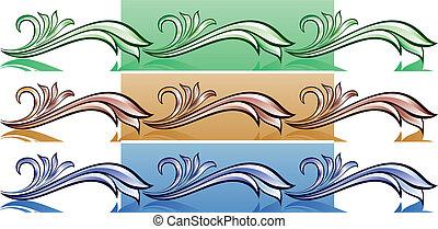 Vintage pattern for design