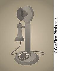 Vintage Phone / Antique Old Telephone