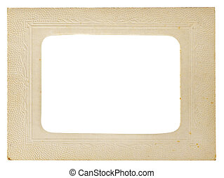 Vintage photo frame