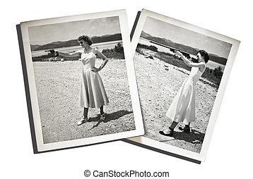 Vintage Photos Women with Guns
