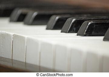 Vintage Piano Close-up 11