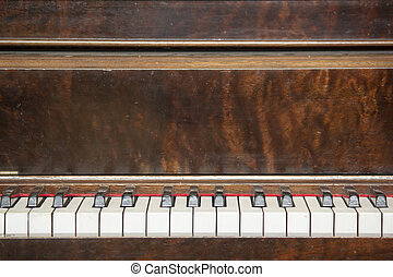 Vintage Piano Close-up 5