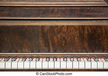 Vintage Piano Close-up 6