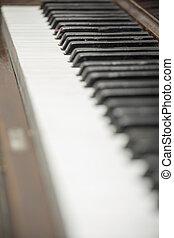 Vintage Piano Close-up 8