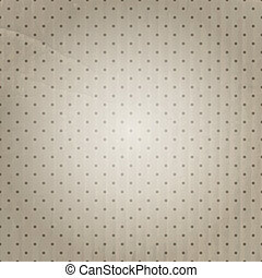 Vintage polka dot background