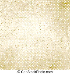 Vintage polka dot texture. EPS 8 - Vintage polka dot...