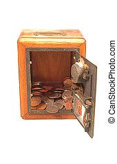 Vintage Postal Coin Bank