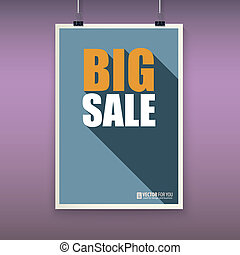 Vintage poster big sale.
