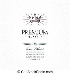 Vintage Premium Label