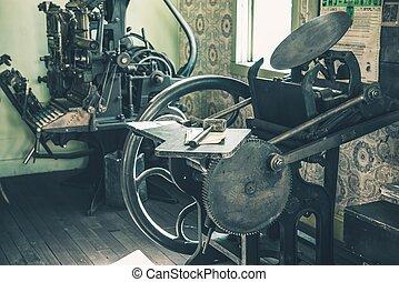 Vintage Printing Shop