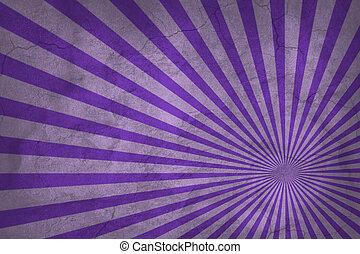 Vintage Purple Rising Sun Abstract Sunburst Pattern Or Background