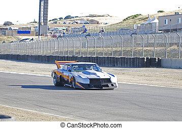 Vintage Race Car 3