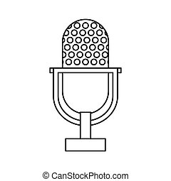 Radio microphone Vector Clip Art EPS Images. 11,433 Radio ...
