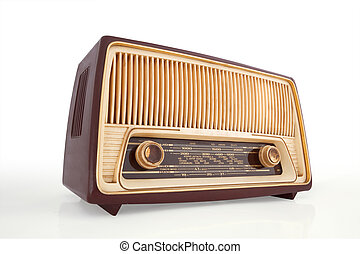 Vintage Radio - Retro Revival Global Communications. Old...