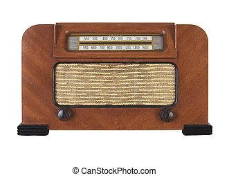 Vintage Antique Retro Radio