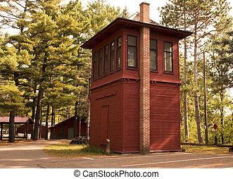 railroad tower