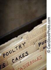 Vintage Recipe Box