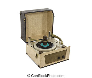 Vintage Record Player from the 1960's