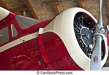 Vintage Red Plane