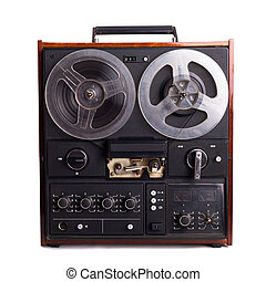 vintage reel-to-reel recorder