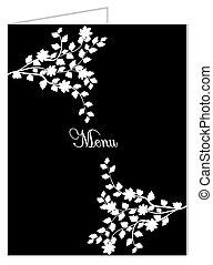 Vintage restaurant opening invitation card with ornate clipart vintage restaurant opening invitation card with ornate elegant retro abstract floral design stopboris Gallery