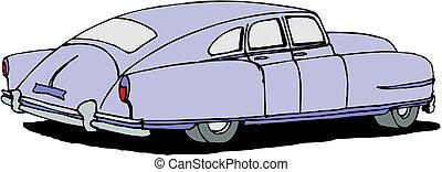 vintage retro automobile