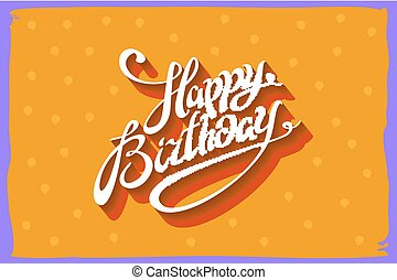 Vintage retro happy birthday card with fonts grunge frame vectors vintage retro happy birthday card with fonts grunge frame and chevrons seamless background bookmarktalkfo Choice Image