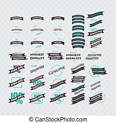 Vintage Retro Icons And Labels