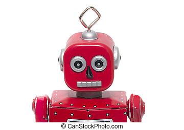 tin toy robot